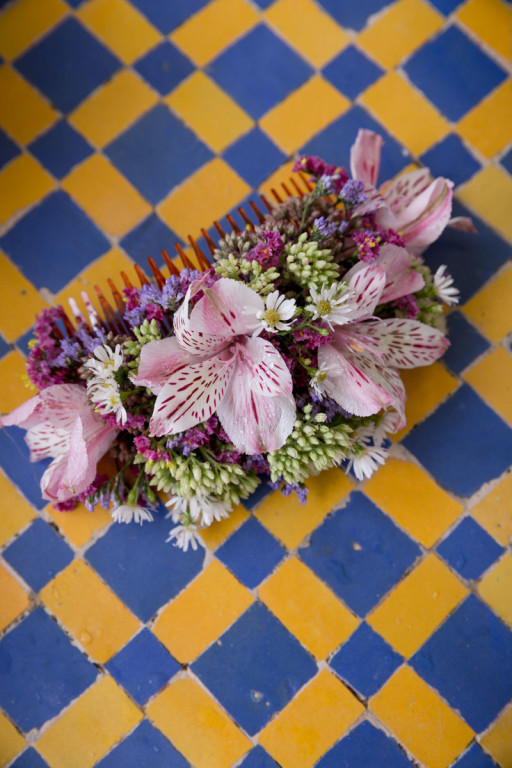 Portuguese wedding flower planner